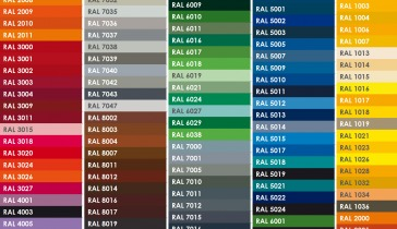 ECS RAL Colors